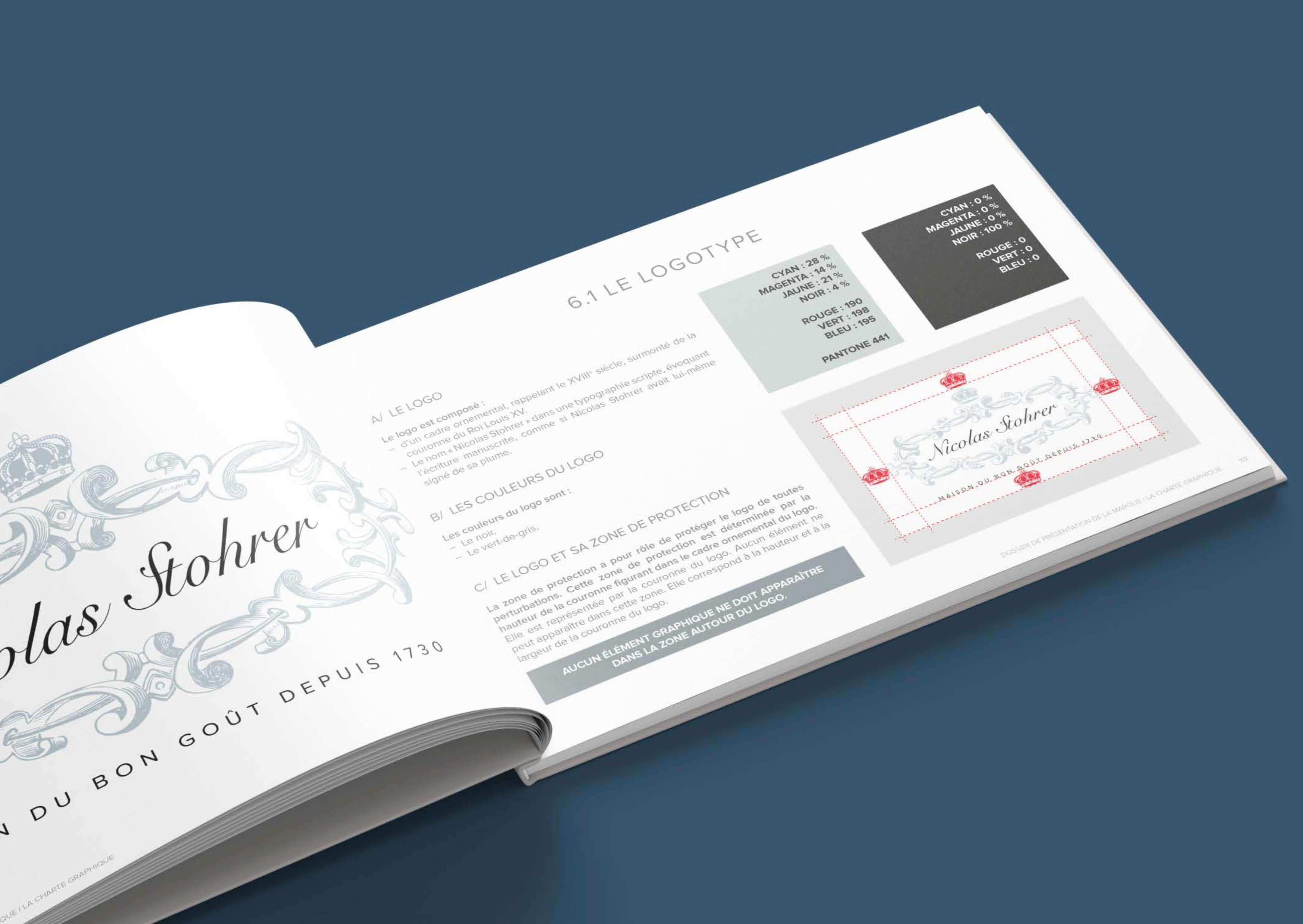 Stohrer packaging création agence restauration
